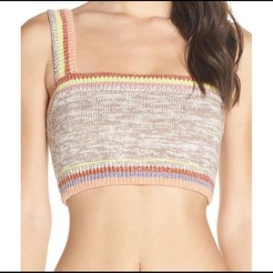 Free People Intimately FP In the Sun Knit Bralette